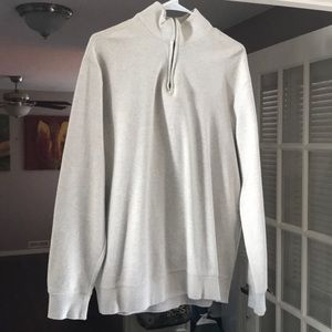 Men's cotton sweater large